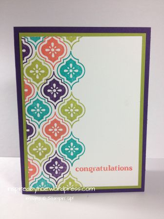 Mosaic Madness, Stampin Up