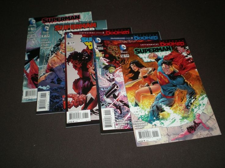 Superman / Wonder Woman #5, 7, 8, 10, 12, (2014), Doomed, DC ST