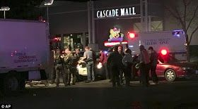 After an overnight manhunt police have arrested the young man responsible for the shooting that left five people dead at the Cascade Mall in Burlington Washington. According to reports Turkish immigrant Arcan Cetin 20 is suspected of killing four women and a man on Friday night. The suspect was apprehended by police 30 miles from the scene of the crime in what was described as a 'zombie-like state'. Cetin allegedly opened fire in the make-up department of Macy's in Burlington's Cascade Mall…