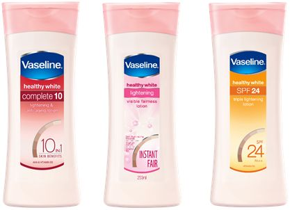 Review: Vaseline Healthy White Body lotions