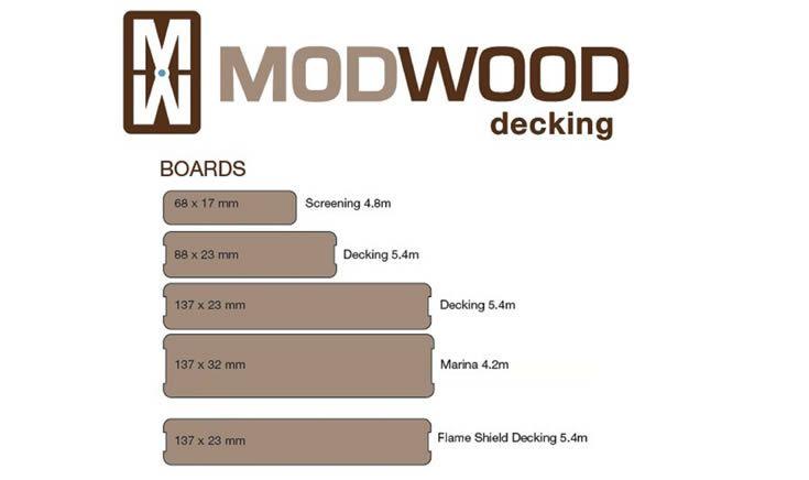 ModWood is Australian  #Backyardideas #Decking