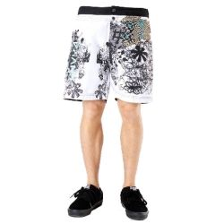 Smart White Floral Beach Men's #Shorts