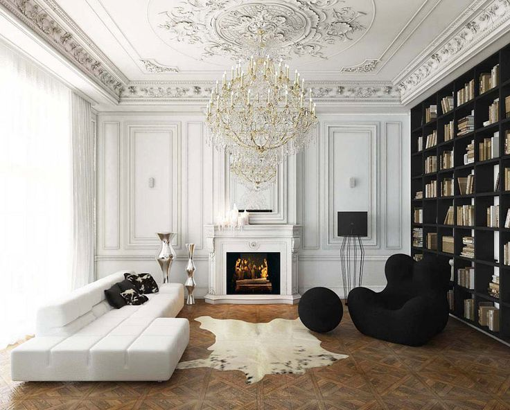 Современный интерьер в классическом стиле