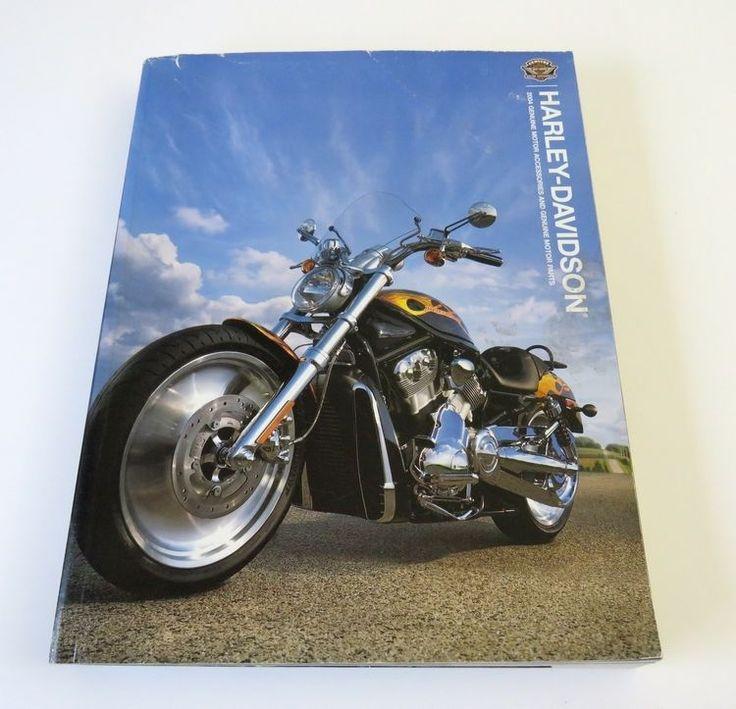 2004 Harley Davidson Genuine Motor Accessories & Parts Catalog HARLEY-DAVIDSON