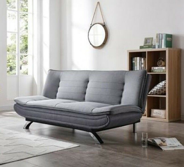 Modern Luxury Sofa Bed Upholstered Couch Furniture Linen Fabric Home Seat Grey Luxury Sofa Bed Couch Furniture Upholstered Couch