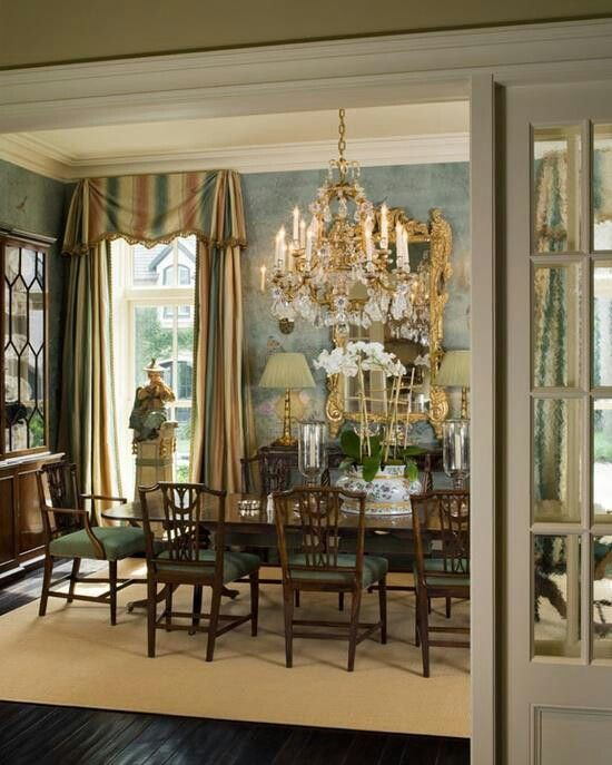 Formal dinning area home breakfast dinning rooms for Formal dining area