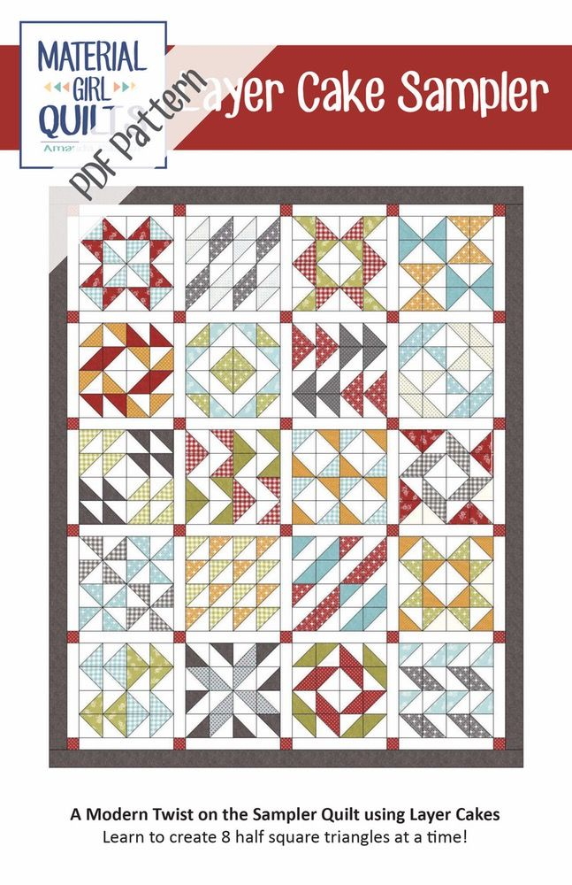 how to make a layer cake quilt
