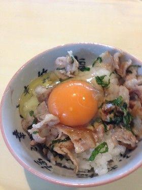 豚丼風卵かけご飯 by tamagocoro [クックパッド] 簡単おいしいみんなの ...