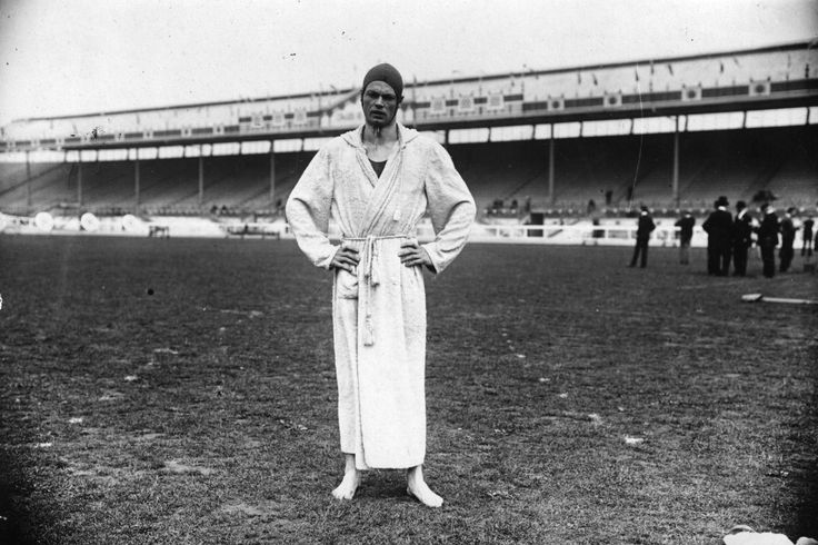 Charles Daniels is an American swimmer at the 1908 Summer Olympics, London