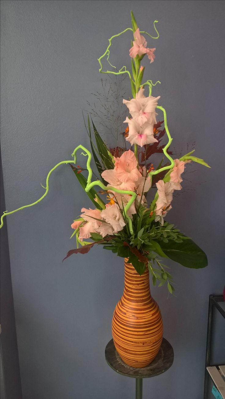 Autumn bouquet in vase.