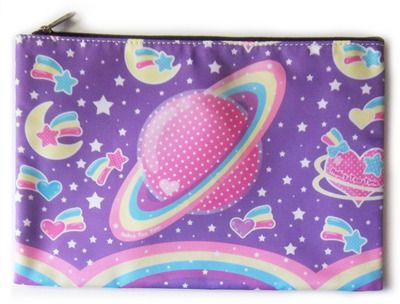 ★ Saturn's Wish Large Zipper Bag ★