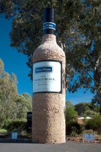 Big Wine Bottle • McLaren Vale • Adelaide city highlight • South Australia