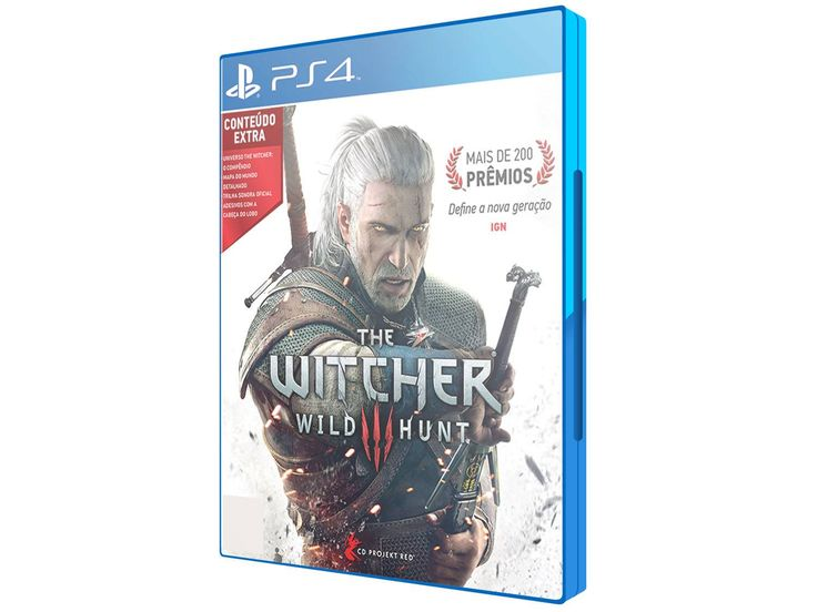 The Witcher 3: Wild Hunt para PS4 CD Project RED - Jogos de Playstation 4 - Magazine Luiza