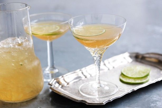 Keep it sweet and simple with this classic daiquiri.