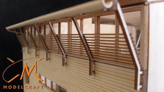 1:50 Timber Architectural Model by Modelcraft (NSW) Pty Ltd - 12056