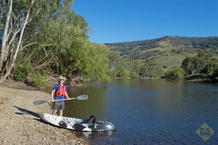Paddling the Murray - On The Road #Murray River #kayaking #canoeing #Murray #fishing #swimming #camping #Victoria #Australia #longest river