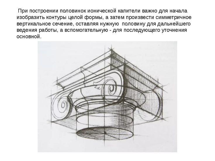рисование капители дорического ордера: 10 тыс изображений найдено в Яндекс.Картинках