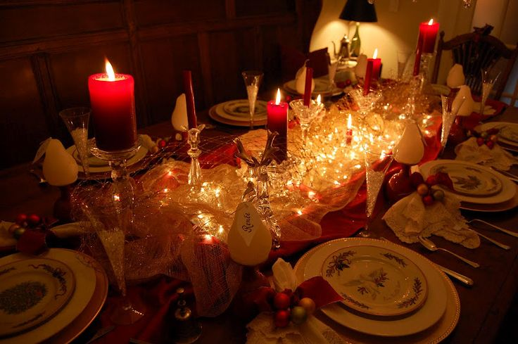 Beautiful Christmas Table Settings – Between Naps on the Porch
