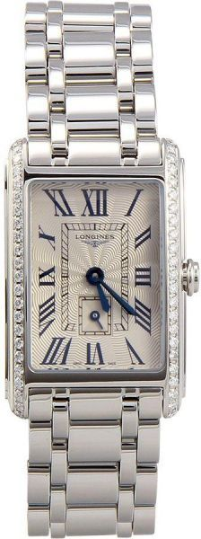 Buy Longines Dress Watch For Women Analog Stainless Steel - L52-55-07-16 - Watches | UAE | Souq