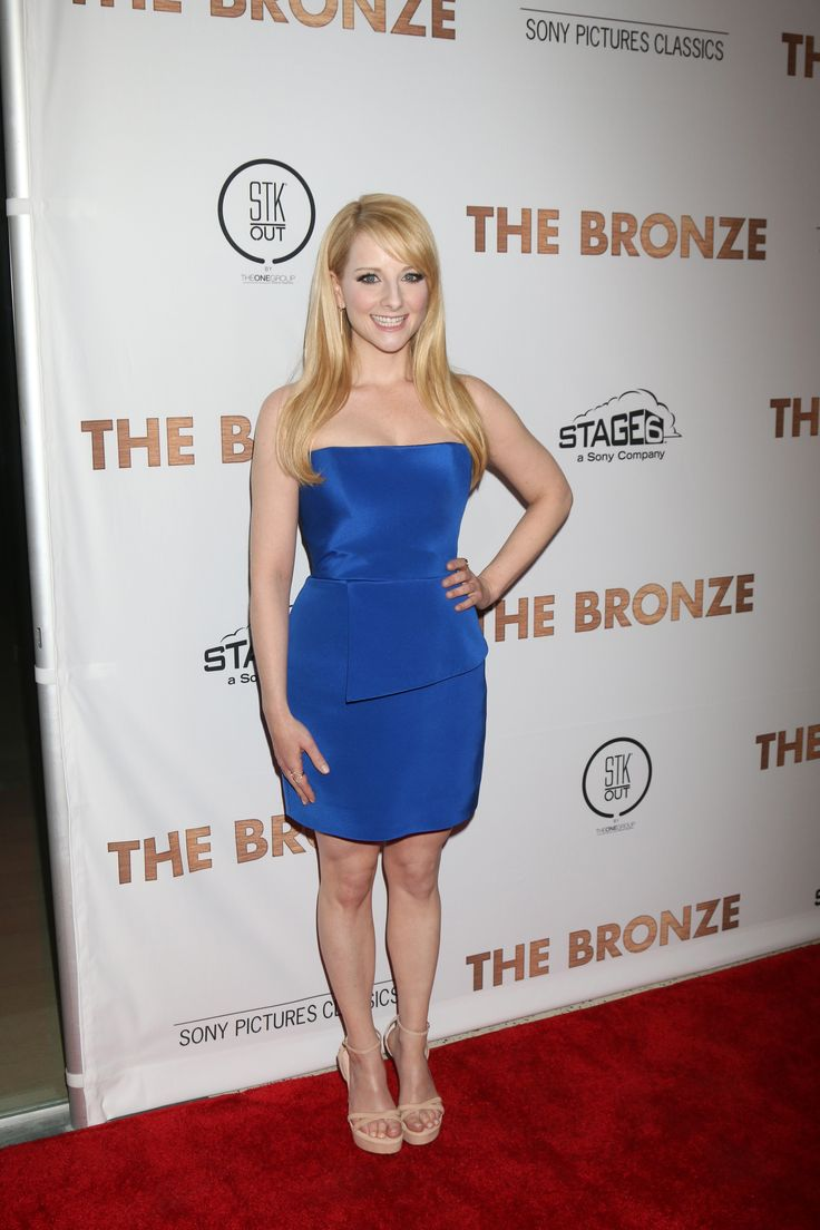 Melissa Rauch arrives at the premiere of Sony Pictures Classics' 'The Bronze' held at SilverScreen Theater at the Pacific Design Center on March 7, 2016 in West Hollywood, California.