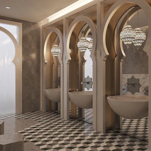 389 best islamic design modern images on pinterest for Bathroom accessories qatar