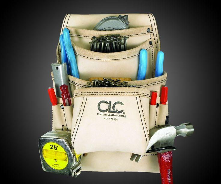 Custom Leathercraft Carpenter's Tool Bag