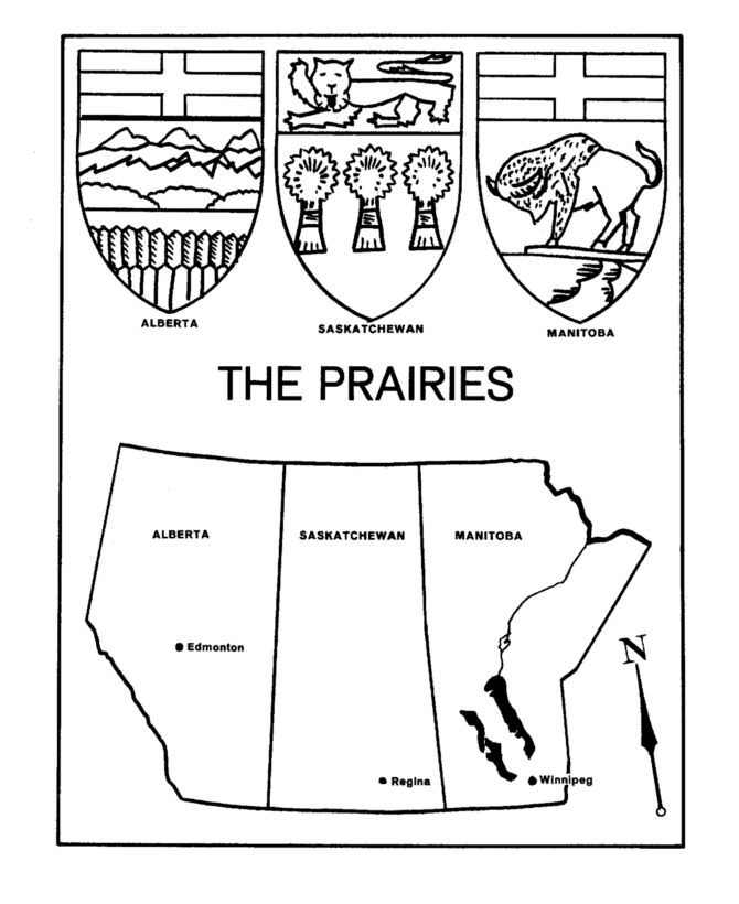 The Prairies - Maps / Coat of Arms