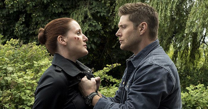 First Supernatural Season 12 Premiere Photos Arrive -- Get your first look at the Winchester Brothers as they return alongside their mother Mary, played by Samantha Smith, in Supernatural Season 12. -- http://tvweb.com/supernatural-season-12-premiere-photos-date/