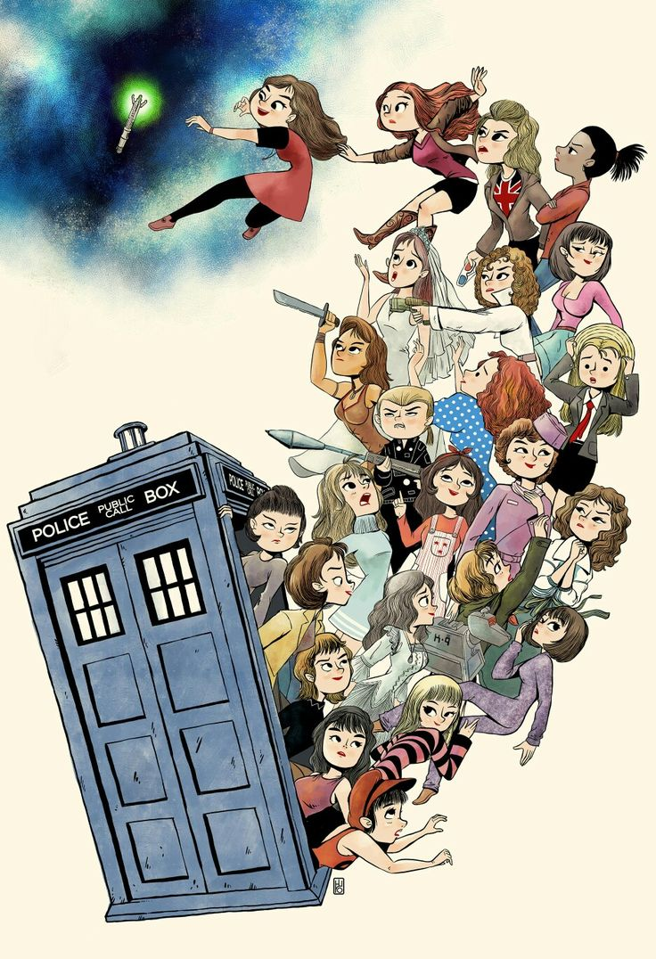 THE DOCTORS COMPANIONS< rose is holding 10's 3d glasses ;.; << OH NO