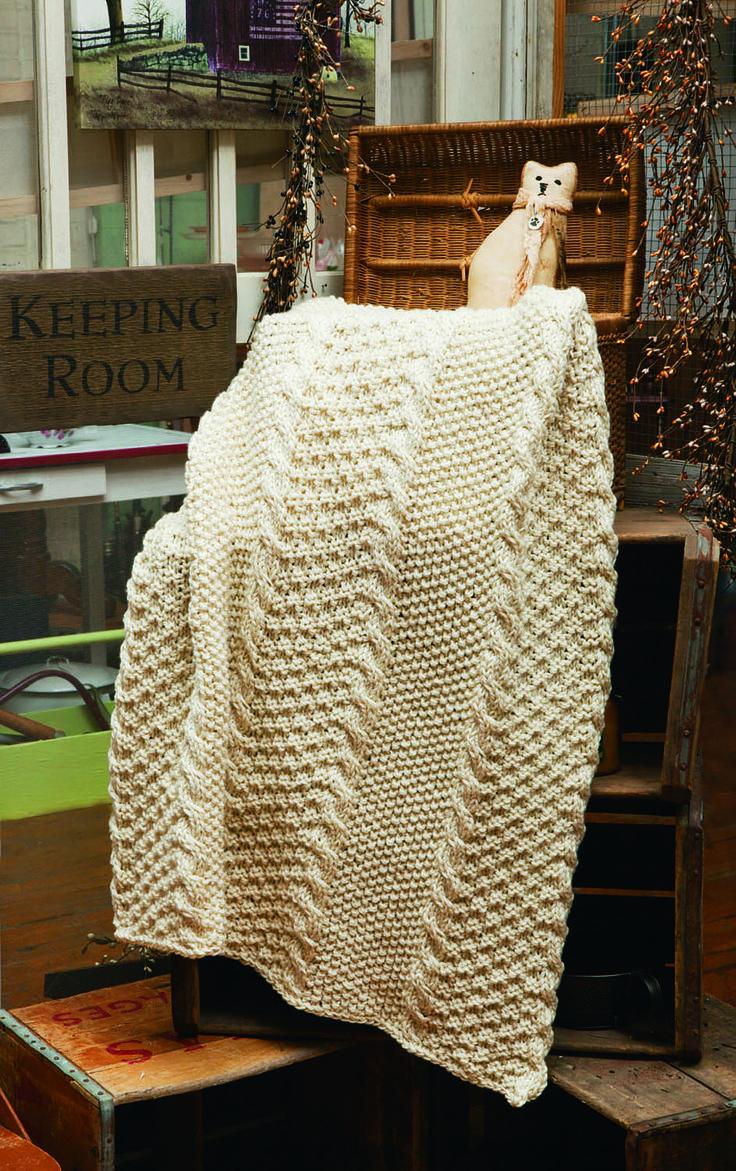 Ravelry: Moss & Seed Twist pattern by Universal Yarn