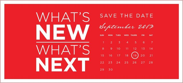 Save the Date! September 19: Click here to  RSVP