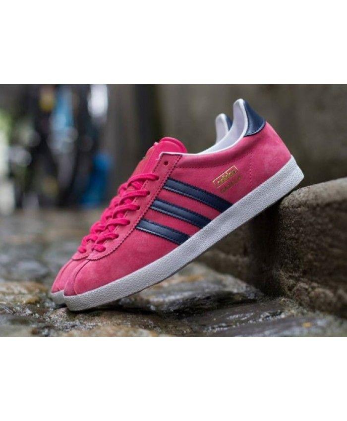 Adidas Gazelle Pink Royal Blue Trainer