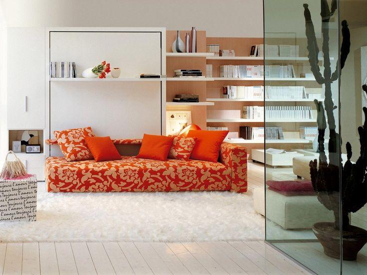 Die besten 25+ Murphy Bett mit Couch Ideen auf Pinterest - bett im wohnzimmer ideen