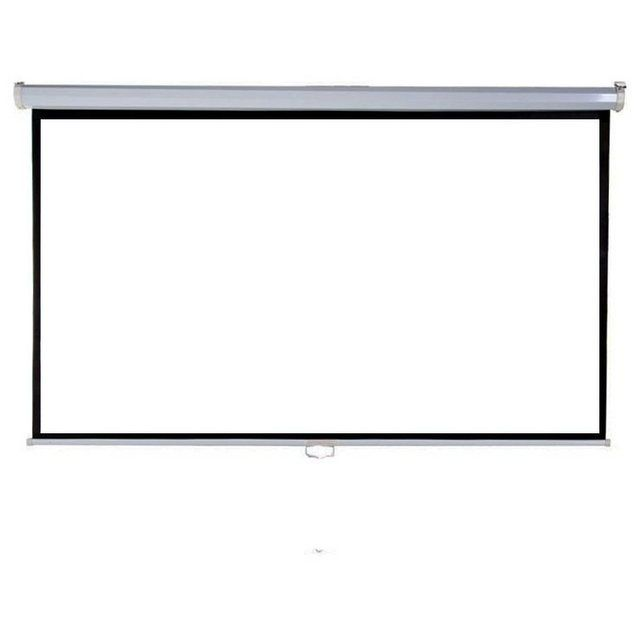 »LV-HM100« Rolloleinwand (220 x 125 cm – 16:9 – 100 Zoll – mit automatischem Verriegelungssystem)