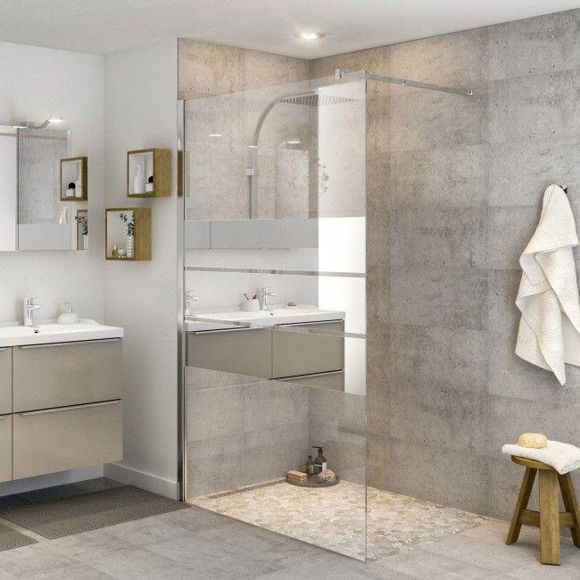 Kabina Prysznicowa Walk In Goodhome Beloya 120 Cm Chrom Szklo Lustrzane Scianki I Drzwiczki Contemporary Bathroom Designs Contemporary Bathrooms Modern Bathroom