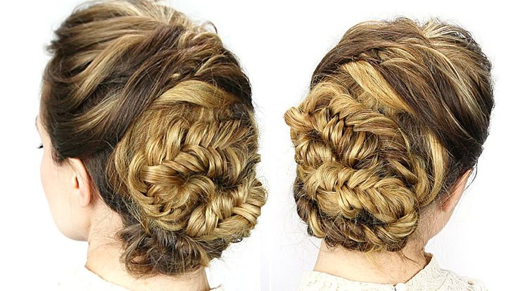 Easy Day to Night Updo! with Twist Me Pretty