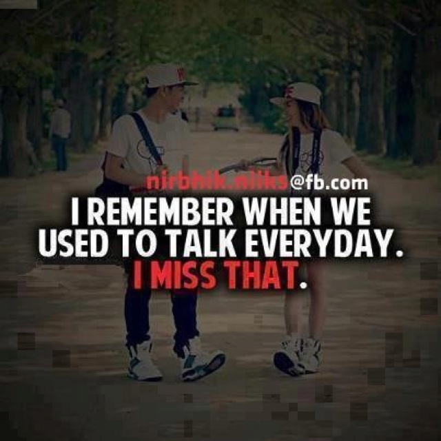 Sad I Miss You Quotes For Friends: Miss Talking To You Quotes. QuotesGram