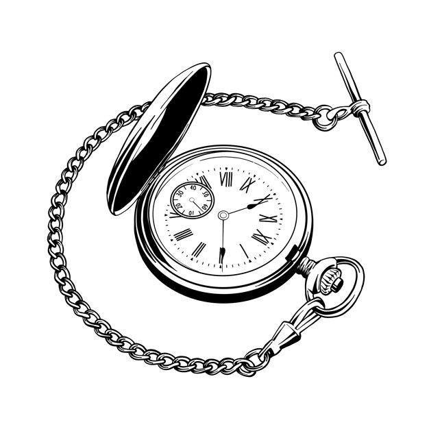 Pin De Mau Mau Tattoo Vito En Aa Reloj De Bolsillo Tattoo Dibujo Reloj De Bolsillo Tatuaje Reloj De Bolsillo