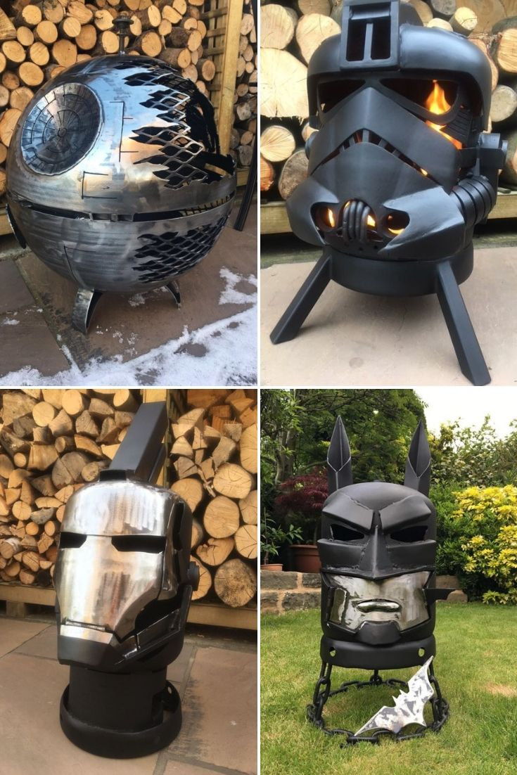 31 Amazing Star Wars Fire Pit Ideas 1001 Gardens Fire Pit Designs Welding Art Projects Cool Fire Pits