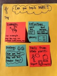 elaboration in elementary writing activities