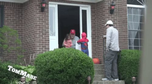 Are you an adult who gets looks when trick or treating? Heres something you may want to consider