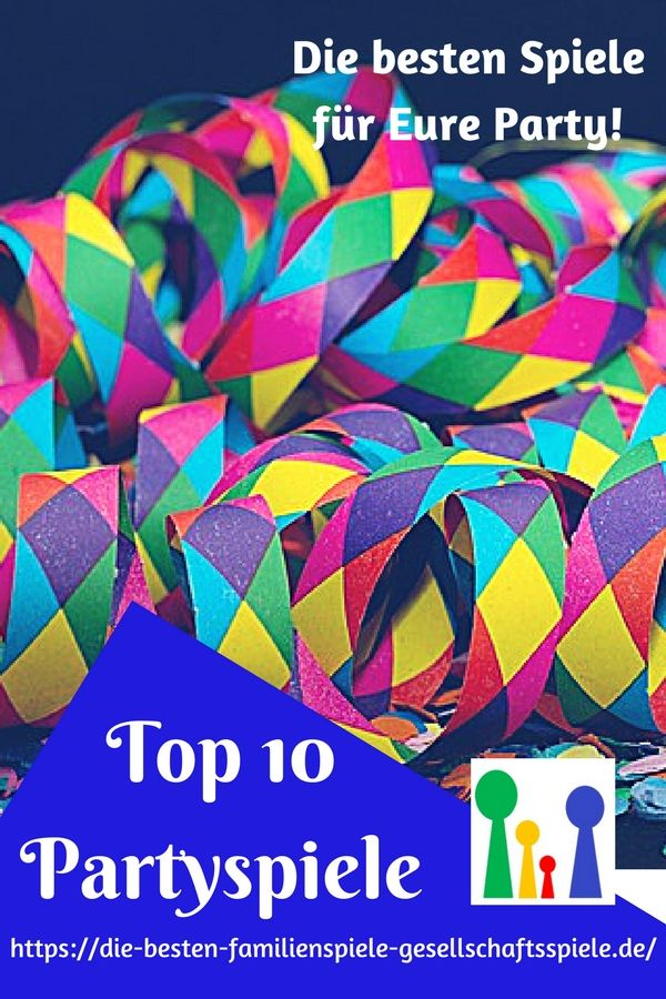 Die Besten Partyspiele Top 10 Liste Lustige Spiele Fur Eure
