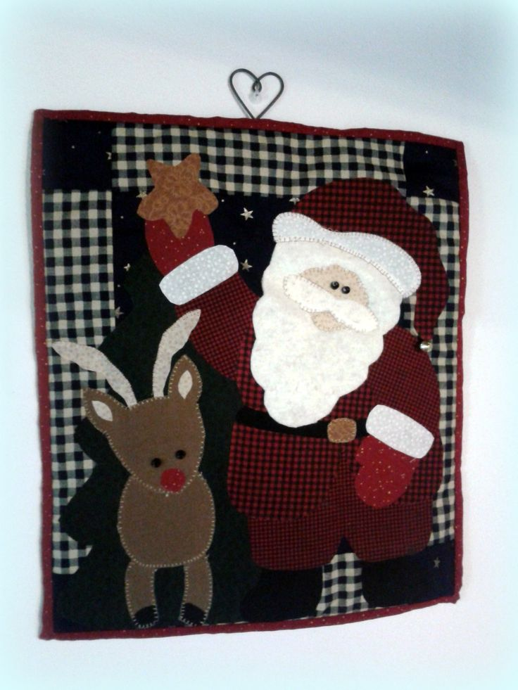 babbo Natale quilt christmas www.creazionidipaola.it