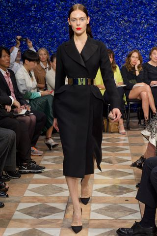 Kinga Rajzak in Christian Dior Haute Couture Fall 2012