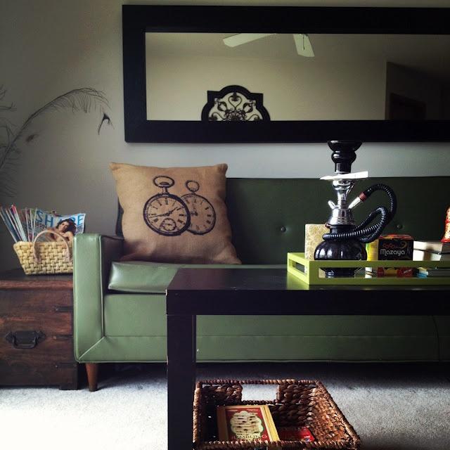 Project Bachelor Pad Living Room Long MirrorBig