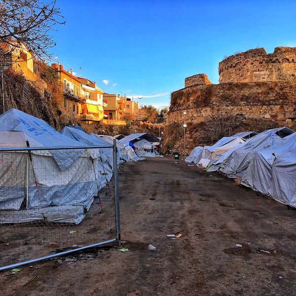 The reason why I picked this picture lies in the fact that refugee camps located in Turkey need financial assistance ....