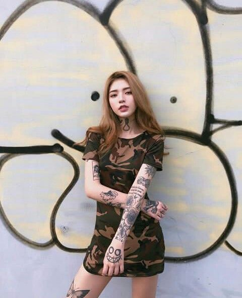 Asian tattoo sexy girls tumblr