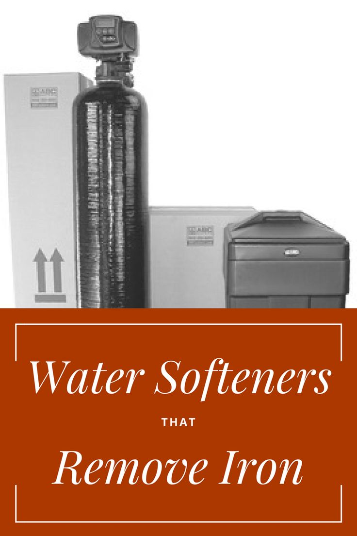 Water Softeners That Remove Iron