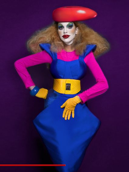 Beauty Lindner - BG Magazine nº 044 POP by Mario Ville (Kattaca) , via Behance
