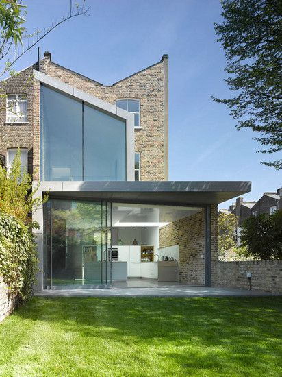 ROBERT DYE ARCHITECTS / RECYCLED HOUSE, DUNOLLIE PLACE, LONDON NW5